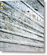 The Marble Steps Of Life Metal Print by Vicki Ferrari