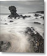 The Milky Sea Metal Print by Andy Astbury