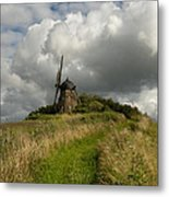The Mill At Aarup Metal Print by Robert Lacy