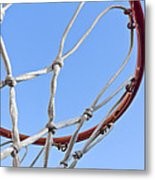 The Net And No Game Metal Print by Nicholas Evans