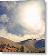 The Niles Sign In The Hills Of Niles California . 7d12707 Metal Print by Wingsdomain Art and Photography