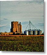 The Old Grain Mill Metal Print by Kelly Reber