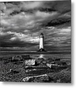 The Old Lighthouse  Metal Print by Adrian Evans