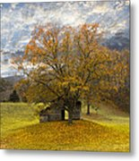 The Old Oak Tree Metal Print by Debra and Dave Vanderlaan