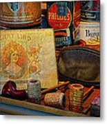 The Old Smoke Shop Metal Print by Dave Mills
