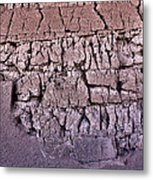 The Old Wall Metal Print by Adam Smith