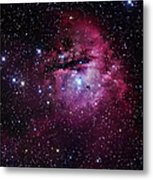 The Pacman Nebula Metal Print by Robert Gendler
