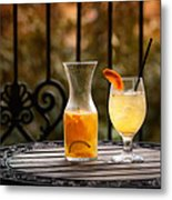 The Patio Metal Print by Brenda Bryant