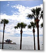 The Pier - St. Petersburg Metal Print by Bill Cannon