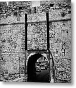 The Porta Di Limisso The Old Land Limassol Gate In The Old City Walls Famagusta Cyprus Metal Print by Joe Fox