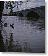 The Potomac Rivers Metal Print by Stephen St. John