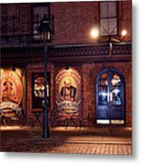 The Pub Metal Print by Terry Wallace