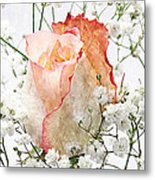 The Rose Metal Print by Andee Design