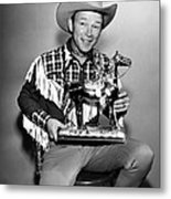 The Roy Rogers Show, Roy Rogers Metal Print by Everett