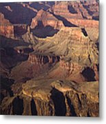The Rugged Grand Canyon Metal Print by Andrew Soundarajan