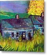 The Shack Metal Print by Mindy Newman