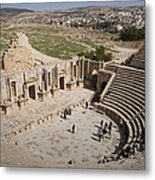 The South Theater In The Ruins Metal Print by Taylor S. Kennedy