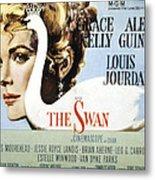 The Swan, Grace Kelly, 1956 Metal Print by Everett