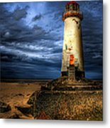 The Talacre Lighthouse Metal Print by Adrian Evans
