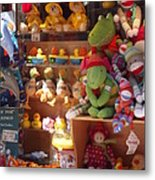 The Toy Store Metal Print by Cathy Curreri