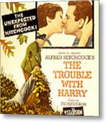 The Trouble With Harry, Shirley Metal Print by Everett