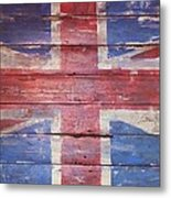 The Union Jack Metal Print by Anna Villarreal Garbis