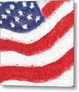 The United States Flag Metal Print by Heidi Smith