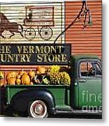 The Vermont Country Store Metal Print by John Greim