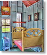 The Vincent Van Gogh Small House Metal Print by Tamyra Ayles