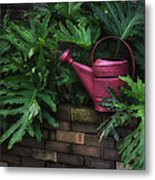 The Watering Can Metal Print by Brenda Bryant