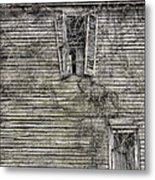 The Window Up Above Metal Print by JC Findley