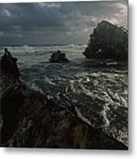 The Wreck Of The Thomas T. Tucker Metal Print by James L. Stanfield