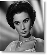 This Earth Is Mine, Jean Simmons, 1959 Metal Print by Everett