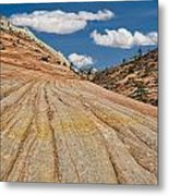 This Is Utah No. 18 - Zions Key Hole Canyon Metal Print by Paul W Sharpe Aka Wizard of Wonders