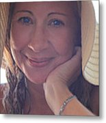 This Smile Was For You Metal Print by Laurie Search
