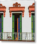 Three Of A Kind - The Windows In Old Sacramento Metal Print by Christine Till