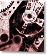 Time Mechanisms Metal Print by David Cucalon
