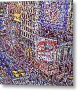 Times Square Metal Print by Marilyn Sholin