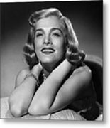 Too Late For Tears, Lizabeth Scott, 1949 Metal Print by Everett