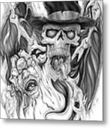 Top Hat Metal Print by Mike Royal