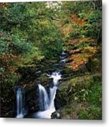 Torc Waterfall, Ireland,co Kerry Metal Print by The Irish Image Collection