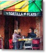 Tortilla Flats Greenwich Village Metal Print by Susan Savad