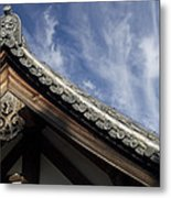 Toshodai-ji Temple Roof Gargoyle - Nara Japan Metal Print by Daniel Hagerman