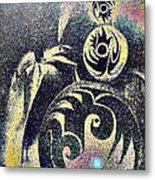 Totem In Space Metal Print by George  Page