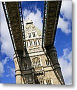Tower Bridge In London Metal Print by Elena Elisseeva