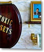 Toxic Assets Metal Print by Dawn Graham