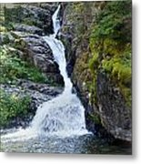 Tricky Falls Metal Print by Marty Koch