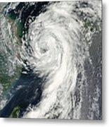 Tropical Storm Dianmu Metal Print by Stocktrek Images