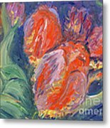 Tulips Metal Print by Barbara Anna Knauf