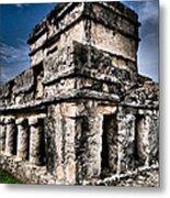 Tulum Ruinas 1 Metal Print by Skip Hunt